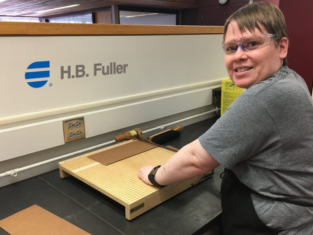 Individual client employed by HB Fuller