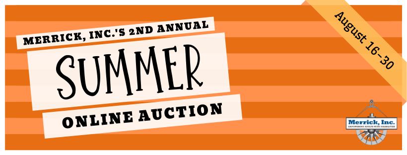 Merrick Summer Online Auction Logo