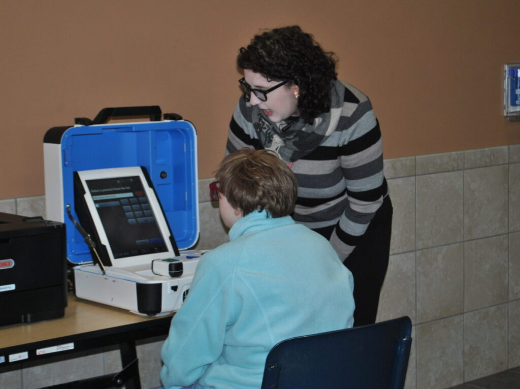Accessible Voting Machines